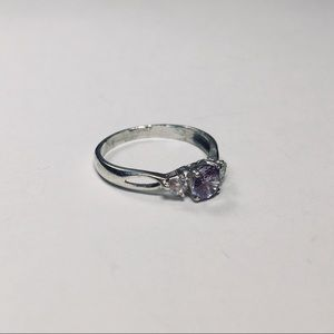 Jewelry - Purple Sterling Silver Ring